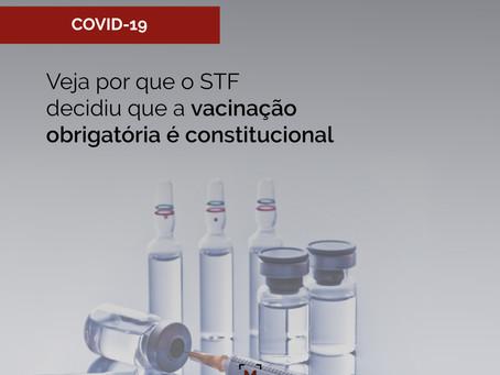 Veja por que o STF decidiu que a vacinação obrigatória é constitucional