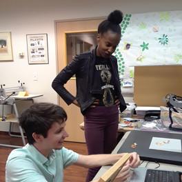 SPRING 2019 - Paper animation workshop at Robert C. Lewis Paper Museum