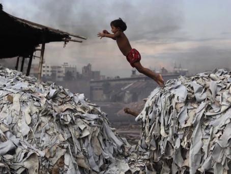 紀錄片:世界最髒的河。罪犯:紡織業。