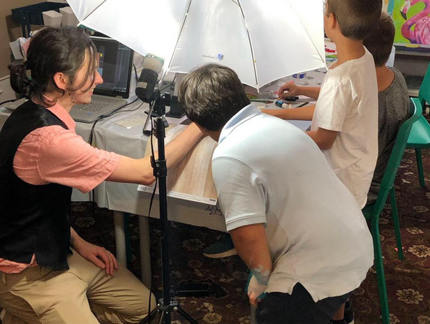 Weekly animation classes, and teaching assistant for classes for children with Neurological disorders.