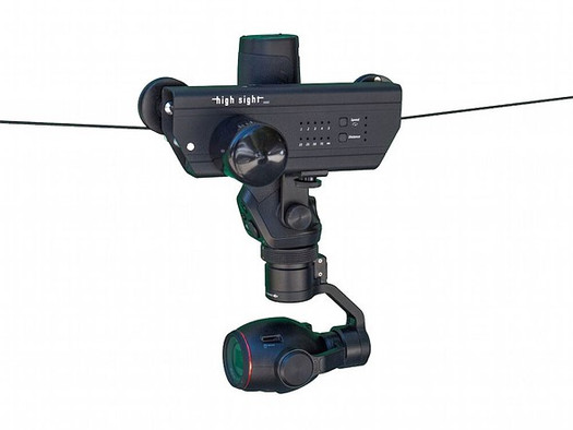 Light cable cam