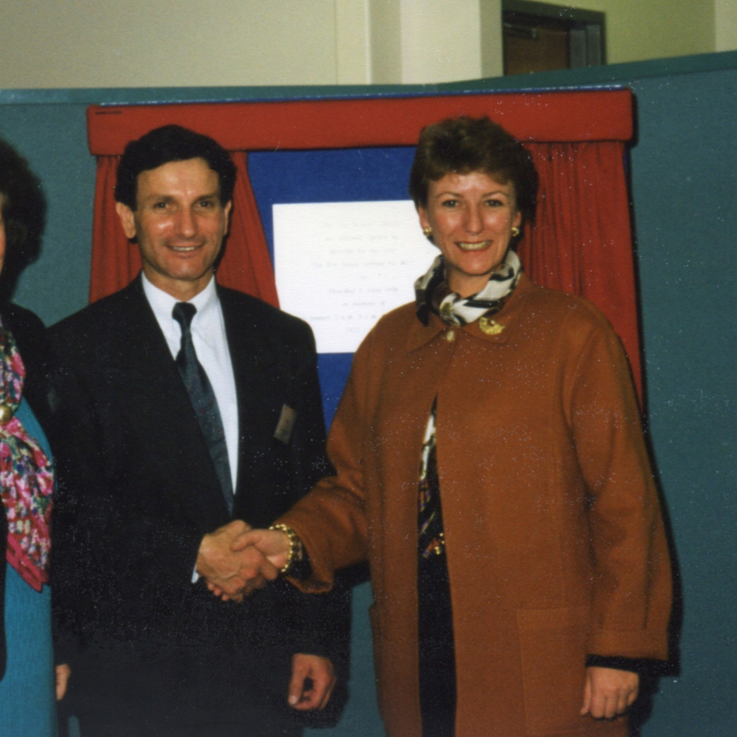Anne Beadell, Tony Zappia, Diana Laidlaw at Opening 11 June 1998