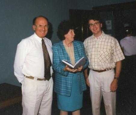 Dick Lang, Anne Beadell & Richard Barnes 1997