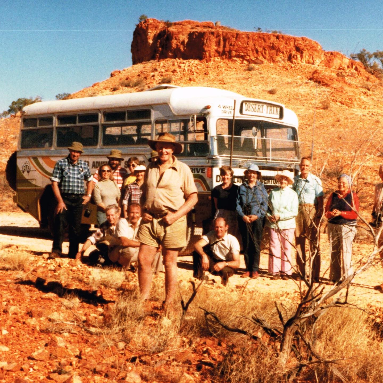 Len Beadell, Dick Lang and 1984 Desert Trek at Mt Beadell