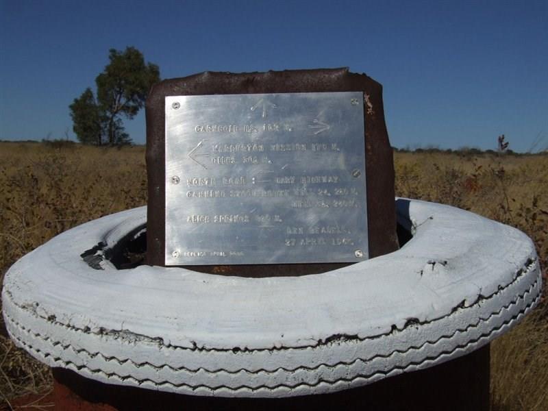 Everard Junction Plaque