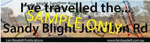 I've travelled the Sandy Blight Junction Rd