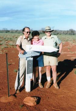 Dick Lang, Anne, Len Jackie Jcn '88