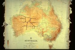 Map of Len's roads