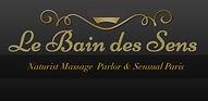 logo le bain des sens naturist massage paris