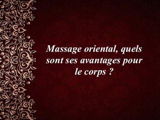 Profitez des avantages du massage oriental !