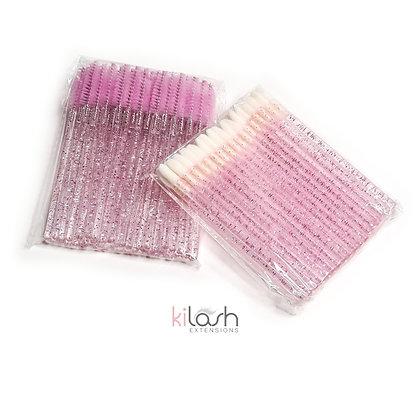 Glitter Brush & Lip Wand Pack