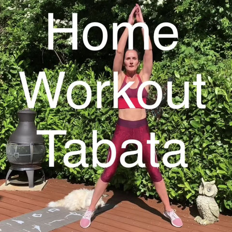 Tabata Weekend Workout 🔥💪