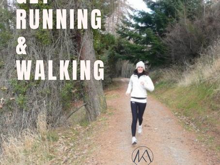 Get Walking, Get Running! The Benefits: