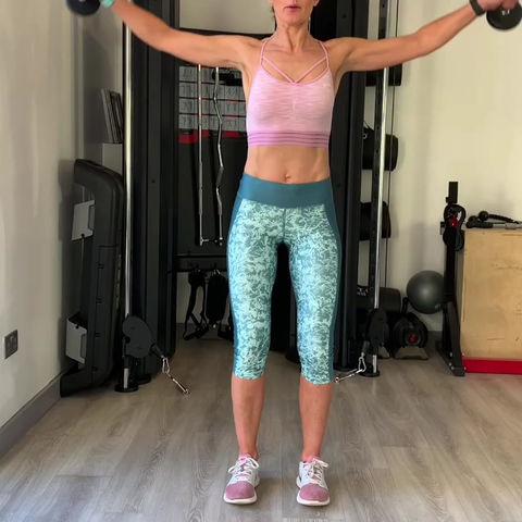 Shoulder Workout ✅ ⬇️ 💪