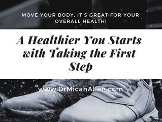Taking the First Steps to a Healthier You!