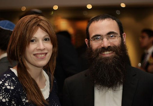 Rabbi Reuven and Rochel Leigh