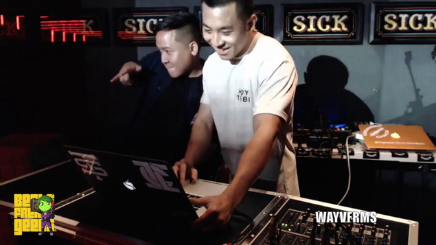 Wayvfrms Live @ Beats|Freaks|Geeks 8.7.18