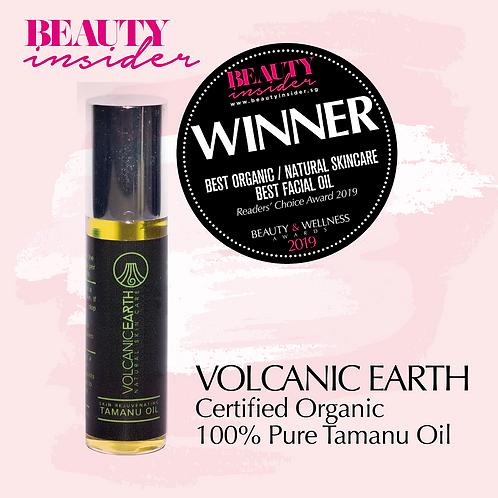 Volcanic Earth Certified Organic 100% Pure Tamanu Oil, 15ml Roll-On