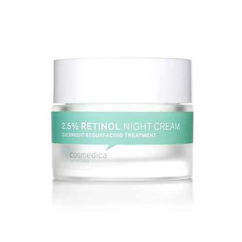 Cosmedica Skincare 2.5% Retinol Facial Night Cream 50g