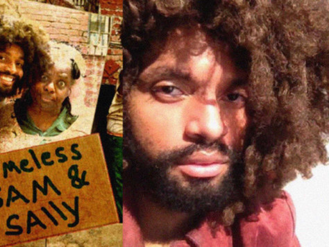 Tyrone Evans Clark Talks About Homeless Sam & Sally And Filmmaking