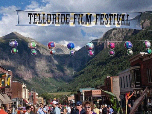The Screens Are Empty In Telluride