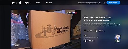 video tv francese distribuzione cibo