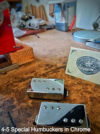 4-5 Special Humbuckers chrome House Of Tone Pickups