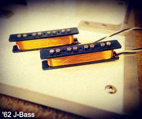 1962 style Jazz Bass Pickups House Of Tone Pickups