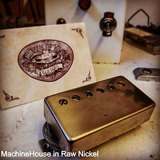 Humbucker pickup raw nickel House Of Tone Pickups