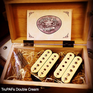 TruPAF PAF humbuckers in double cream House Of Tone Pickups
