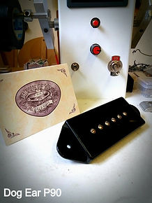 dog ear P90 pickup house of tone pickups