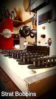 Stratocaster pickups bobbins house of tone pickups
