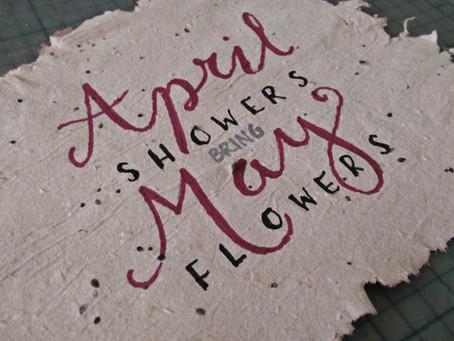 Papier à planter : fleurs vivaces