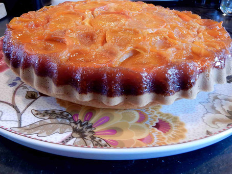 Notre gâteau moelleux à l'abricot