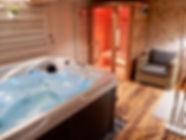 le jacuzzi et le sauna japonais