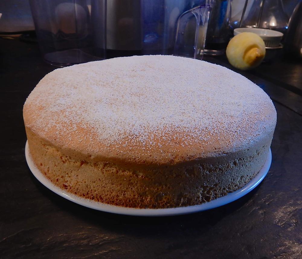 le gâteau des anges que vous pourrez déguster au petit déjeuner des chambres d'hôtes à château-gontier