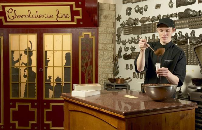 la chocolaterie réauté : à visiter si vous séjournez dans nos hébergements à château-gontier