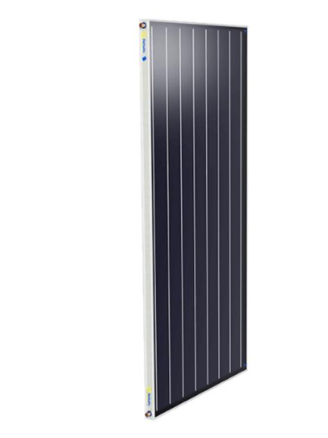 Coletor Solar 1,0x1,60m inox Heliodin