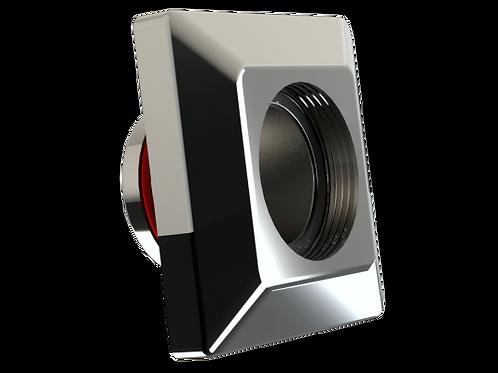 Dispositivo de aspiração em Inox Quadrado THOLZ