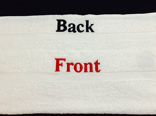 Front/Back Bath Towel