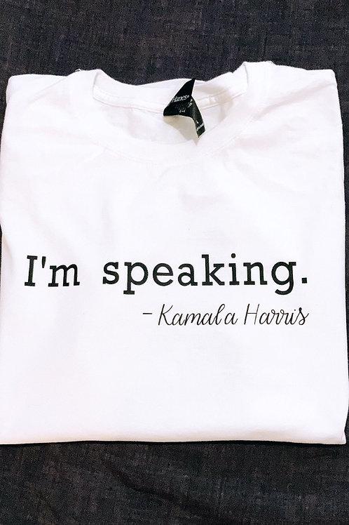 I'm speaking shirt