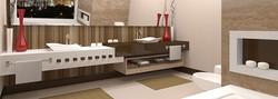 Lavatório de Banheiro em Nanoglass