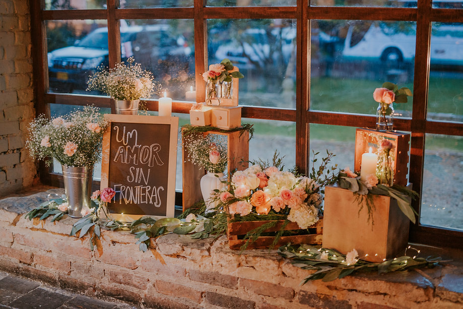 Decoración bodas restaurante el portico
