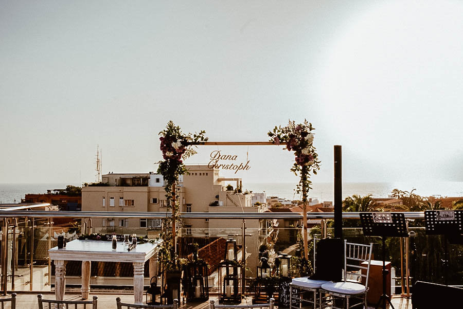 Ceremonia hotel movich cartagena boda