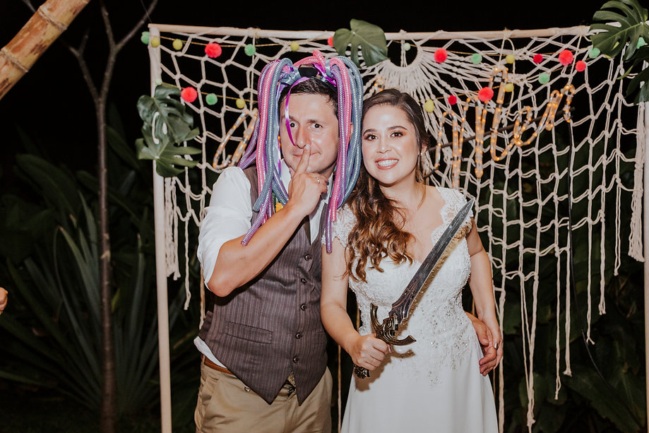 photobooth tropicales
