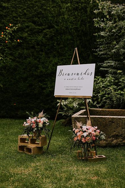 señalización bodas