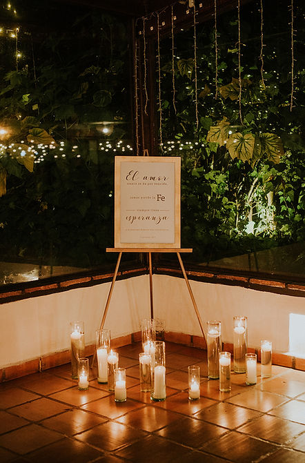 bodas cn velas
