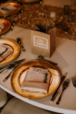 Menú y platos bases para bodas