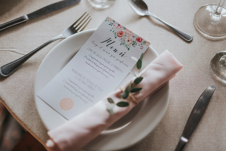 servilleteros para bodas