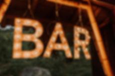 letrero bar